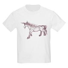 Zephyr Brown Sepia Unicorn T-Shirt