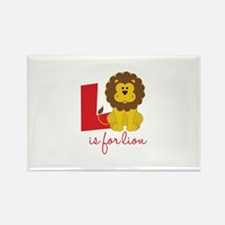 L Is For Lion Magnets