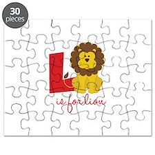 L Is For Lion Puzzle