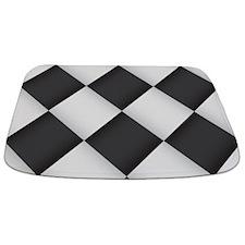 Chess Board Pattern Bathmat