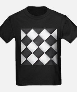 Chess Board Pattern T-Shirt