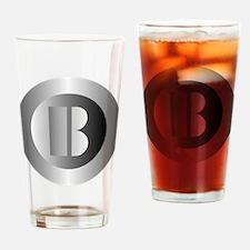 Polished Steel (B) Drinking Glass
