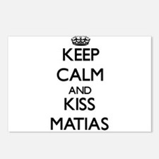 Keep Calm and Kiss Matias Postcards (Package of 8)