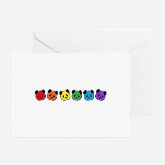 all bear inline 01 Greeting Card