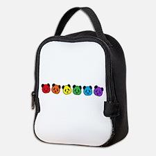 all bear inline 01 Neoprene Lunch Bag