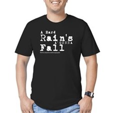 Hard Rain-BW-X T-Shirt