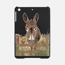 Humorous Smart Ass Donkey Painting iPad Mini Case