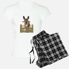 Humorous Smart Ass Donkey Painting pajamas