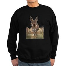 Humorous Smart Ass Donkey Painting Sweatshirt