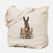Fun Donkey Smart Ass Humor quote Tote Bag