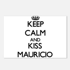 Keep Calm and Kiss Mauricio Postcards (Package of