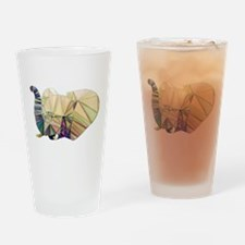 Abstract Elephant Drinking Glass