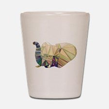 Abstract Elephant Shot Glass