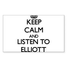 Keep Calm and Listen to Elliott Decal