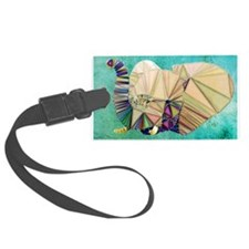 Abstract Elephant Luggage Tag