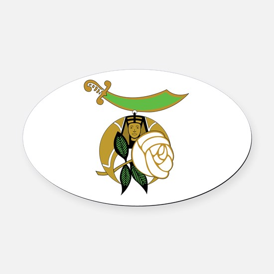 Daughters of the Nile Oval Car Magnet