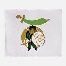 Daughters of the Nile Throw Blanket