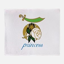 Princess Throw Blanket