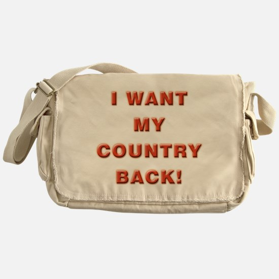 My Country Messenger Bag