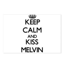 Keep Calm and Kiss Melvin Postcards (Package of 8)