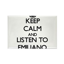 Keep Calm and Listen to Emiliano Magnets