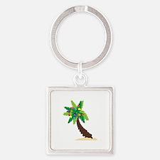 Christmas Palm Tree Keychains