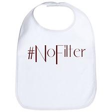 #NoFilter - crimson Bib