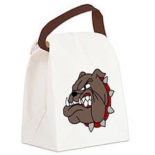 Bulldog Canvas Lunch Bag