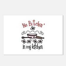 No Bitchin in my Kitchen Postcards (Package of 8)