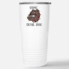 USMC DEVIL DOG Travel Mug