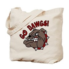 GO DAWGS! Tote Bag