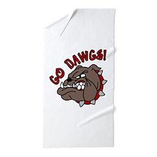 GO DAWGS! Beach Towel