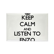 Keep Calm and Listen to Enzo Magnets