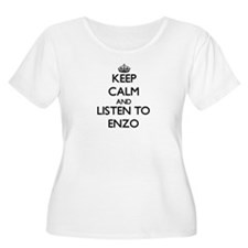 Keep Calm and Listen to Enzo Plus Size T-Shirt