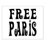 FREE PARIS Small Poster