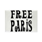 FREE PARIS Rectangle Magnet (10 pack)