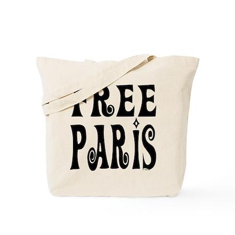 FREE PARIS Tote Bag