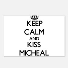Keep Calm and Kiss Micheal Postcards (Package of 8