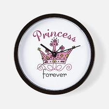 Princess Forever Wall Clock
