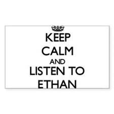 Keep Calm and Listen to Ethan Decal