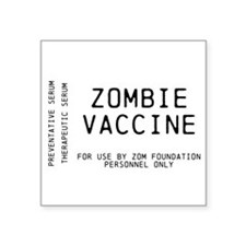 Official Vaccine Label Sticker
