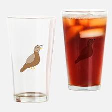 Quail Drinking Glass