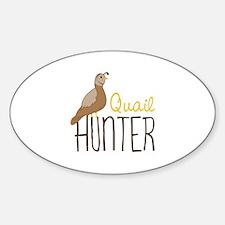 Quail Hunter Decal