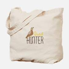 Quail Hunter Tote Bag