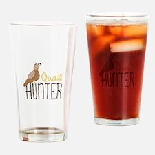 Quail Hunter Drinking Glass