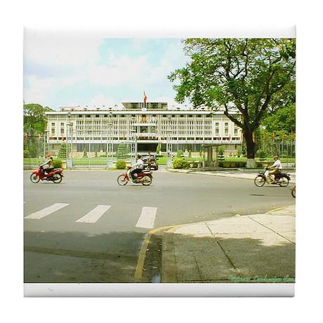 Reunification Palace Tile Coaster