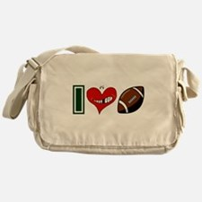 IHEARTFOOTBALL3.png Messenger Bag