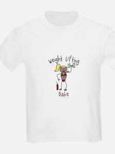 Weight Lifting Babe T-Shirt