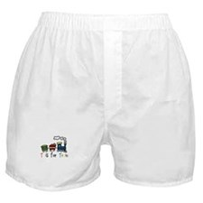 T Is For Train Boxer Shorts