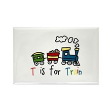 T Is For Train Magnets
